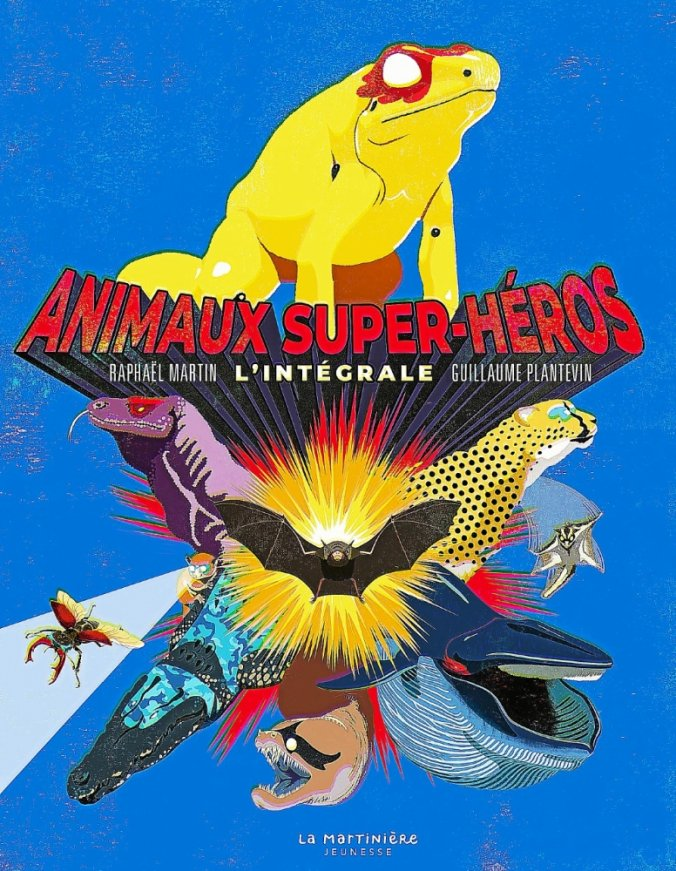 animaux super heros
